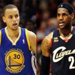 LeBron James y Stephen Curry lideran votaciones al Partido de las Estrellas