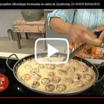 Clases de Cocina con Jacqueline Albondigas horneadas en salsa de Zanahorias, En VIVO!!! 09/04/2018