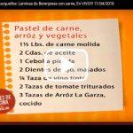Clases de cocina con Jacqueline: Laminas de Berenjenas con carne, En VIVO!!! 11/04/2018