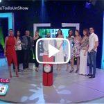 Alfonso Rodríguez y el elenco de la Película Pulso Jugando la bomba – Pamela Todo Un Show