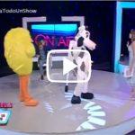 Iván Ruiz y Colombia Alcántara Jugando La Vaca y El Pollito – Pamela Todo Un Show