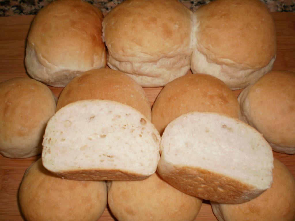 pan de agua esponjoso