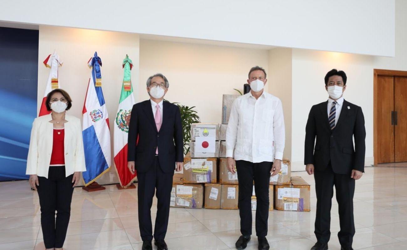 Donación Japón y México