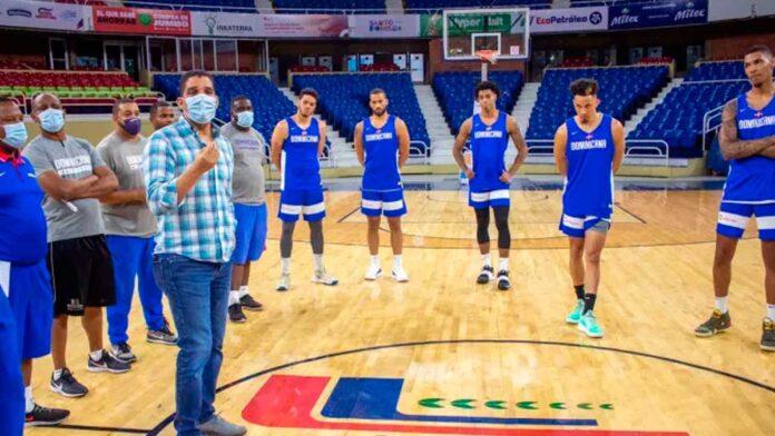 Selección nacional de baloncesto inicia entrenamientos con miras a repechaje olímpico