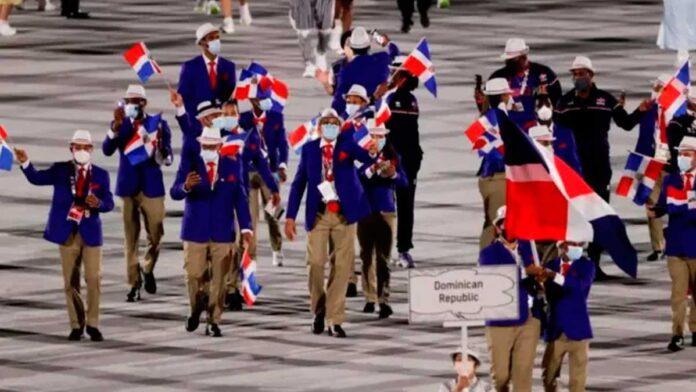 Así desfiló la delegación dominicana en los Juegos Olímpicos, a ritmo de merengue