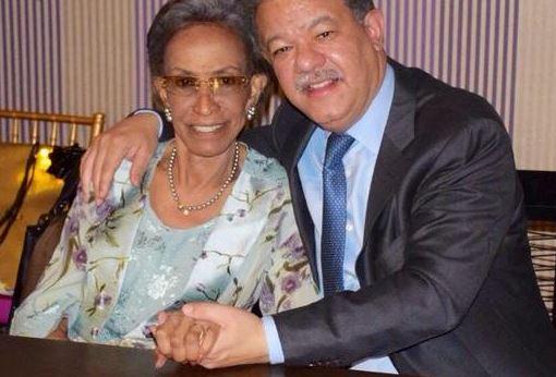 Muere doña Yolanda, madre de Leonel Fernández