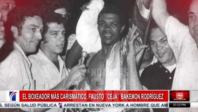 """El boxeador más carismático, Fausto """"Ceja"""" Bakemon Rodríguez"""