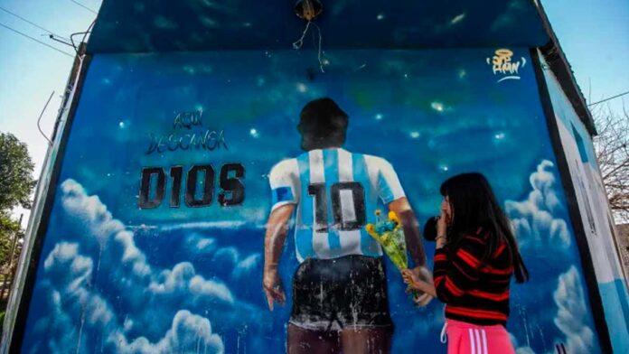 Hijos de Maradona utilizan la cuenta de Instagram para homenajearlo