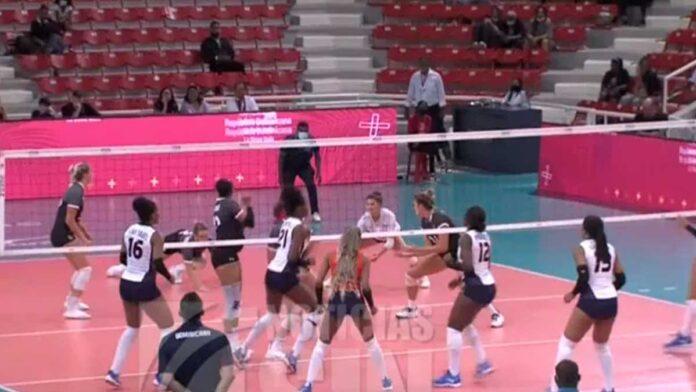 RD vence tres sets sobre cero a la selección canadiense de voleibol femenino